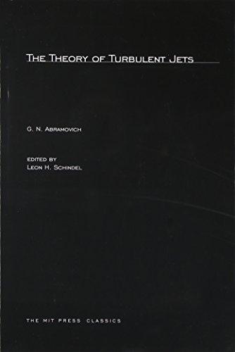9780262511377: The Theory of Turbulent Jets (MIT Press)