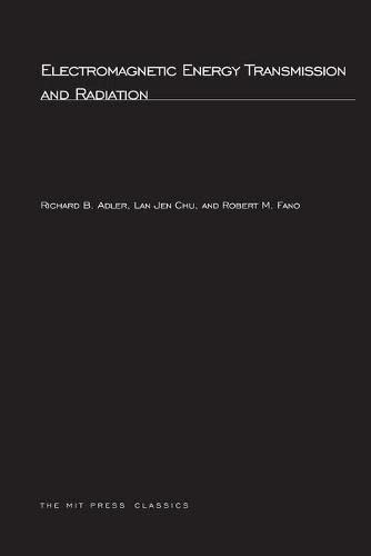 9780262511407: Electromagnetic Energy Transmission and Radiation (MIT Press)