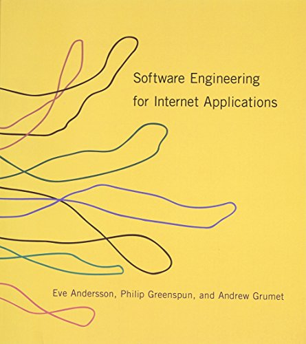 9780262511919: Software Engineering for Internet Applications (MIT Press)