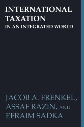9780262512145: International Taxation in an Integrated World (MIT Press)