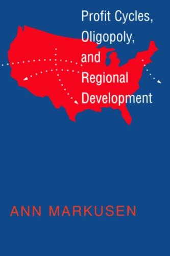 9780262512206: Profit Cycles, Oligopoly, and Regional Development (MIT Press)