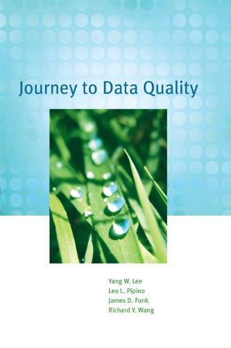9780262513357: Journey to Data Quality (MIT Press)