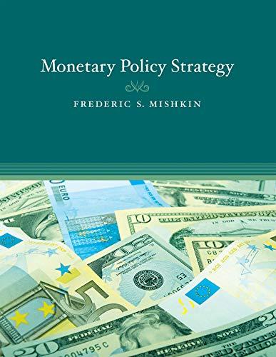 9780262513371: Monetary Policy Strategy (MIT Press)