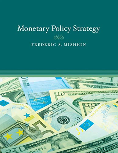 9780262513371: Monetary Policy Strategy (MIT Press)