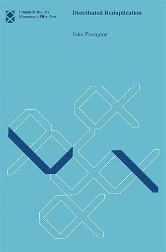 9780262513531: Distributed Reduplication (Linguistic Inquiry Monographs)