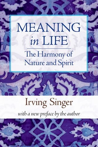 9780262513586: The Harmony of Nature and Spirit: 3 (Irving Singer Library)