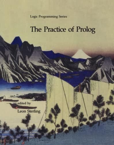 9780262514453: The Practice of Prolog (Logic Programming)