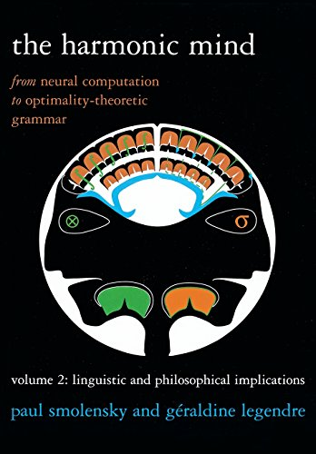 9780262514545: The Harmonic Mind, Volume 2: From Neural Computation to Optimality-Theoretic Grammar: Linguistic and Philosophical Implications (Bradford Books)