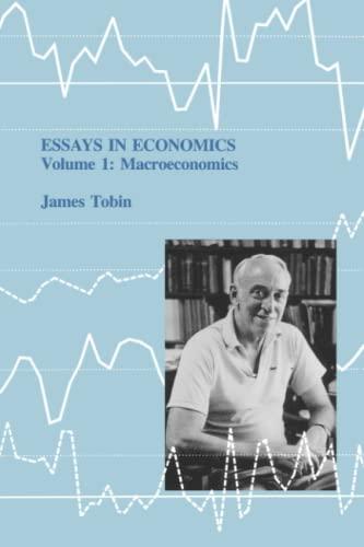 9780262514552: Essays in Economics: Volume 1: Macroeconomics (MIT Press)