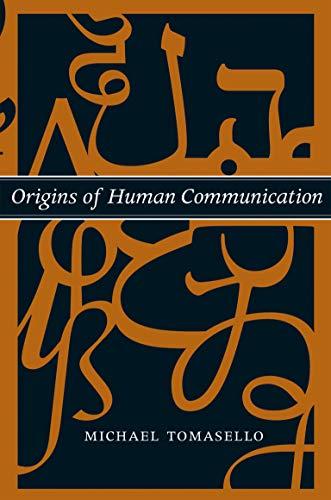 9780262515207: Origins of Human Communication