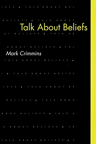 9780262515719: Talk About Beliefs (MIT Press)