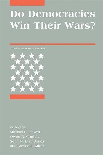 9780262515900: Do Democracies Win Their Wars?: An International Security Reader