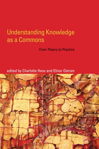 9780262516037: Understanding Knowledge as a Commons: From Theory to Practice
