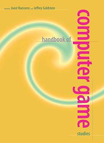 9780262516587: Handbook of Computer Game Studies (MIT Press)