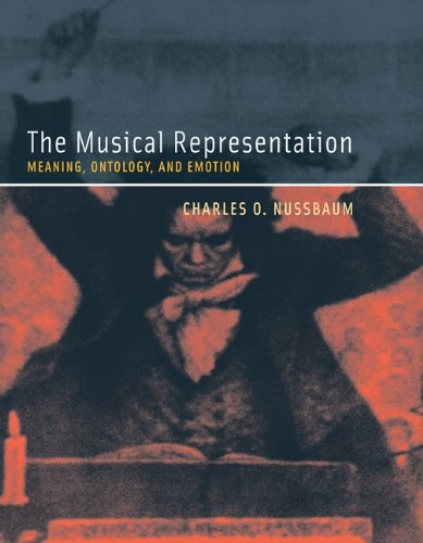 9780262517454: The Musical Representation: Meaning, Ontology, and Emotion (A Bradford Book)