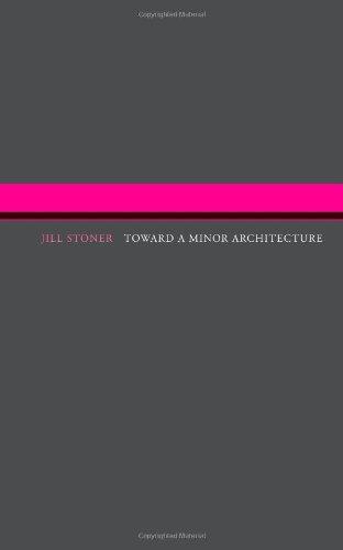 9780262517645: Toward A Minor Architecture (MIT Press)