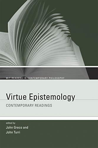 9780262517805: Virtue Epistemology (MIT Readers in Contemporary Philosophy)