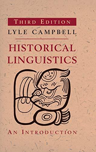 9780262518499: Historical Linguistics: An Introduction