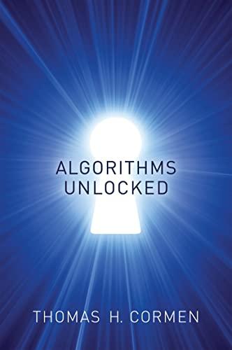 9780262518802: Algorithms Unlocked (The MIT Press)