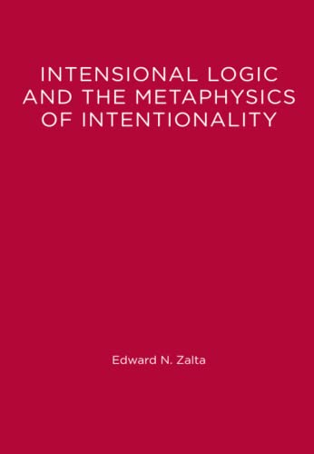 9780262519526: Intensional Logic and Metaphysics of Intentionality (MIT Press)