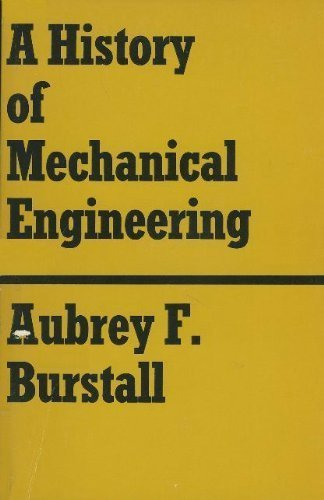 9780262520010: A History of Mechanical Engineering
