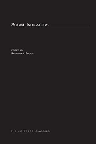 9780262520072: Social Indicators (MIT Press Classics)