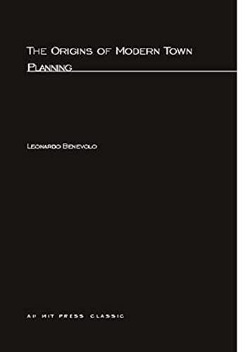 9780262520188: Origins of Modern Town Planning