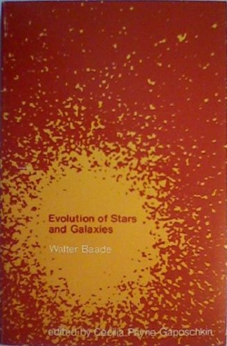 Evolution of Stars and Galaxies.