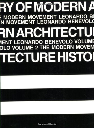 9780262520454: History of Modern Architecture: The Modern Movement: 002