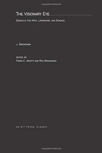 9780262520683: The Visionary Eye: Essays in the Arts, Literature, and Science (MIT Press)