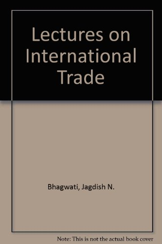 9780262520843: Lectures on International Trade