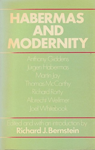 9780262521024: Habermas and Modernity