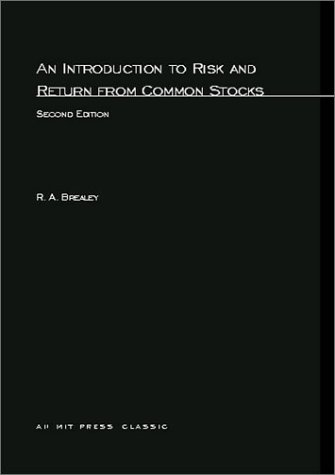 9780262521161: An Introduction to Risk and Return from Common Stocks (MIT Press)