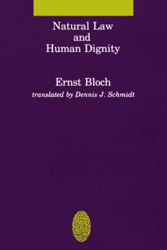 9780262521291: Natural Law and Human Dignity (Studies in Contemporary German Social Thought)