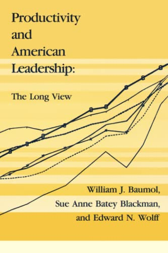 9780262521635: Productivity and American Leadership: The Long View