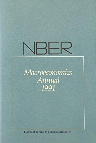 9780262521659: Nber Macroeconomics Annual 1991 (NBER Macroeconomics Annuals Series)