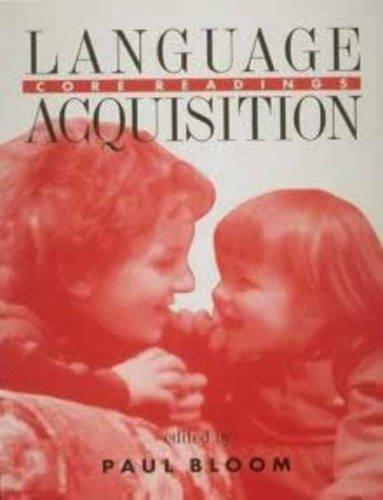 9780262521871: Language Acquisition: Core Readings