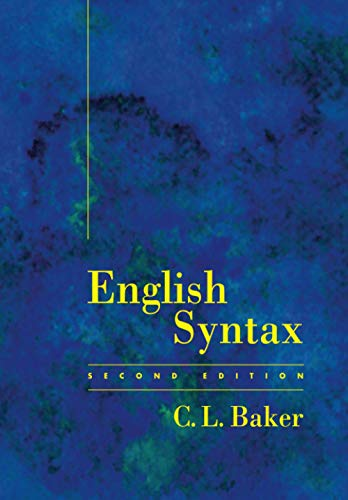 9780262521987: English Syntax - 2nd Edition