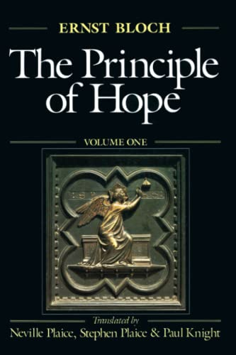 9780262521994: The Principle of Hope, Vol. 1 (Studies in Contemporary German Social Thought)