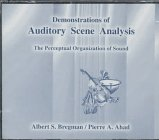9780262522212: Demonstrations of Auditory Scene Analysis: The Perceptual Organization of Sound