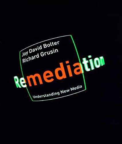 9780262522793: Remediation - Understanding New Media (Paper)