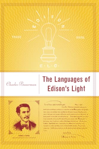 9780262523264: The Languages of Edison's Light (Inside Technology)