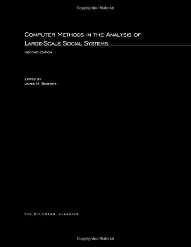 Computer Methods in the Analysis of Large-Scale: Beshers, James M.