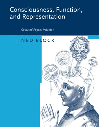 9780262524629: 1: Consciousness, Function, and Representation: Collected Papers: v. 1