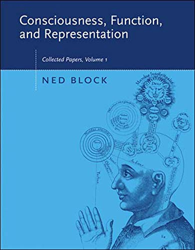9780262524629: Consciousness, Function, and Representation: Collected Papers, Volume 1