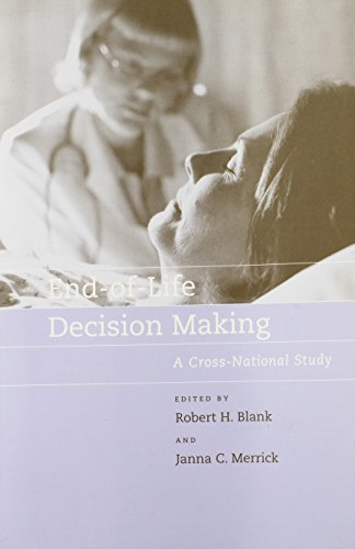 9780262524735: End-of-Life Decision Making: A Cross-National Study (Basic Bioethics)