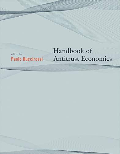 9780262524773: Handbook of Antitrust Economics