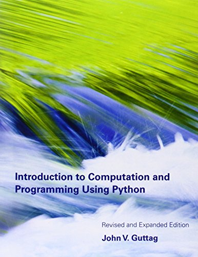 9780262525008: Introduction to Computation and Programming Using Python – Revised and Expanded Edition 2e