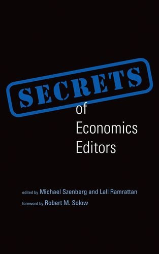9780262525466: Secrets of Economics Editors