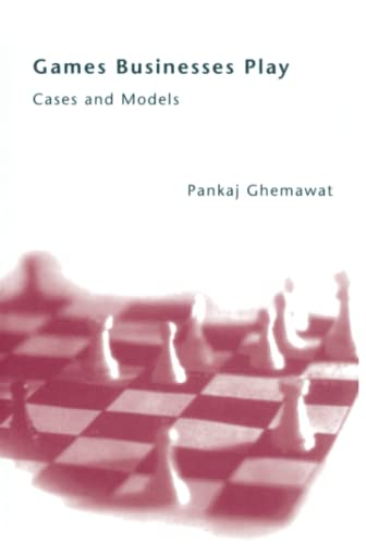 9780262525534: Games Businesses Play: Cases and Models (MIT Press)